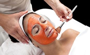 Упругость увядающей кожи лица