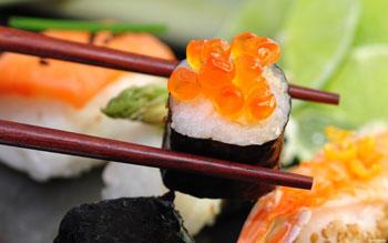 Суши и роллы могут стать прекрасным