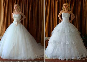 Еще с детства каждая девушка представляет свою свадьбу и соответственно платье, в котором она будет похожа на принцессу. Платья от LadyBird доведены до