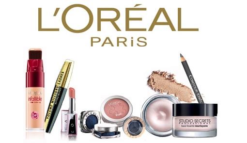 Косметика Лореаль впечатляет своим разнообразием - декоративная косметика, косметик