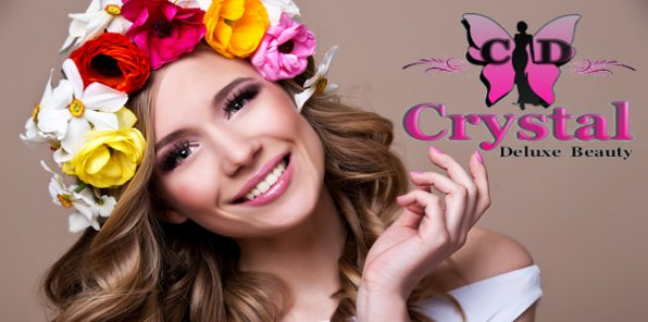 - 80% на услуги для волос от Crystal Deluxe Beauty