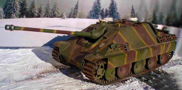 -85% на катание и стрельбу из танка ПТ-САУ «Ягдпантера»