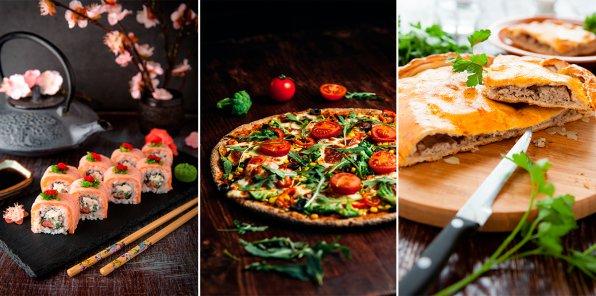-50% на пиццу, суши и пироги + 500 р. в подарок
