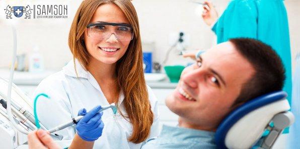 -60% на стоматологию в центре Samson