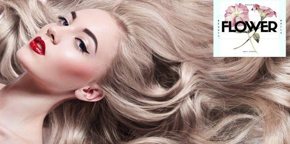 -85% на услуги для волос в студии Nail FLOWER
