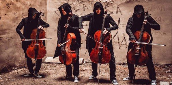 -30% на билет на концерт «Мировые рок-хиты на виолончелях»