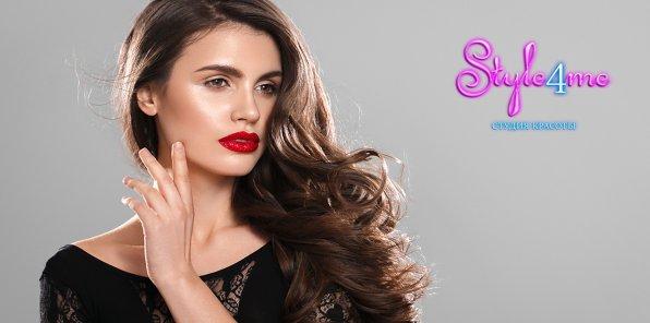 65% на услуги для волос в студии красоты Style4me