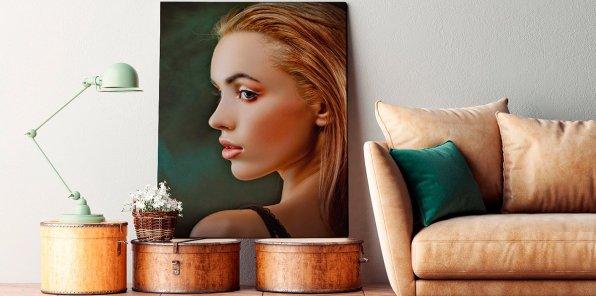 -50% на печать фото на холсте и картин от Print Ninjas