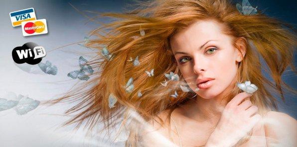 -80% на услуги для волос в студии «Бабочка»