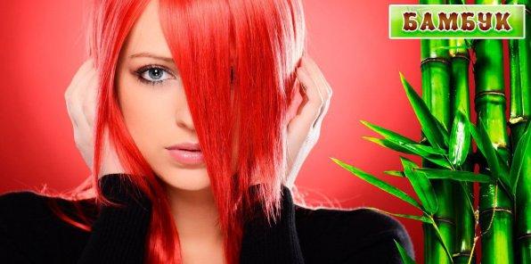 -80% на услуги для волос в студии «Бамбук»